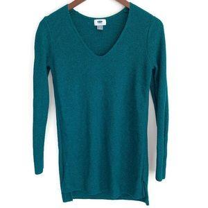 Old navy Jade green long sleeve sweater S